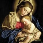 Virgen y Niño.