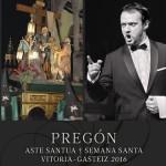 Pregón de la Semana Santa de Vitoria-Gasteiz